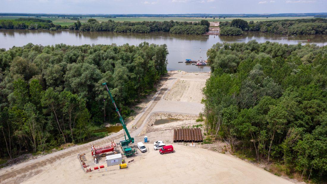 Új Duna-híd épül