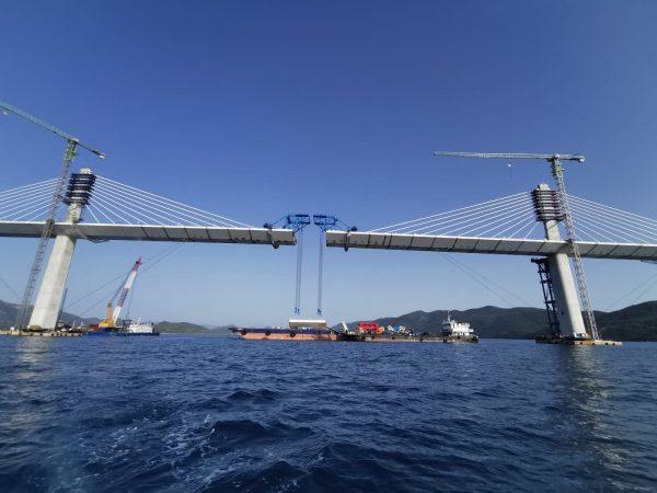 Elkészült a Peljesac-híd